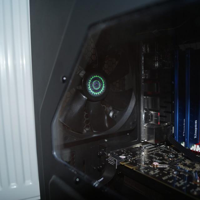 """Inside the machine"" stock image"
