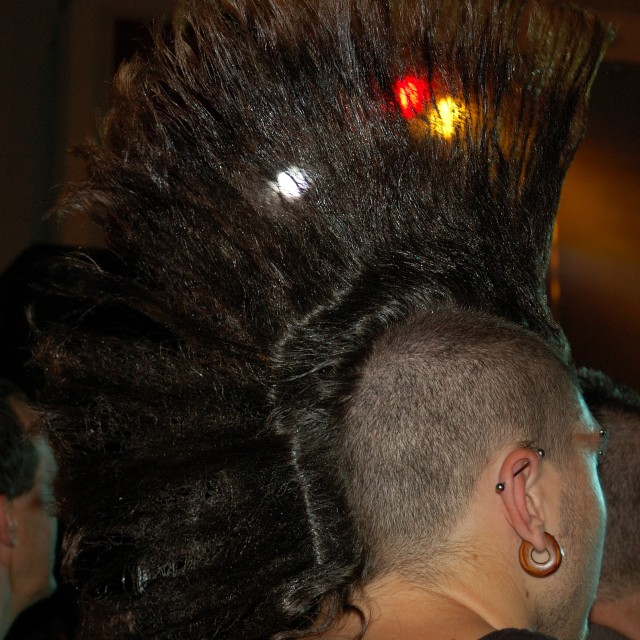 """Punk Highlights"" stock image"