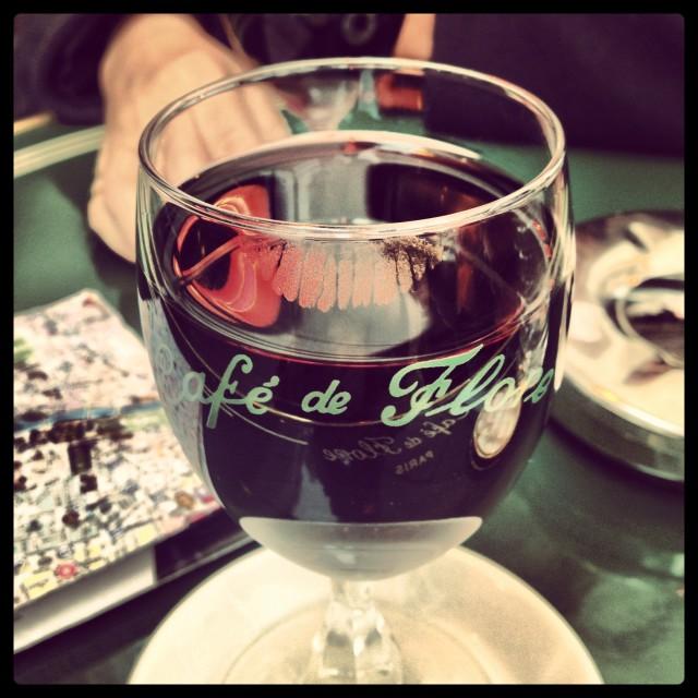 """""""Cafe de Flore"""" stock image"""
