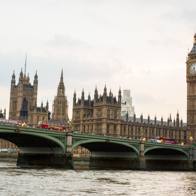 """Big Ben, Westminster, Houses of Parliament"" stock image"