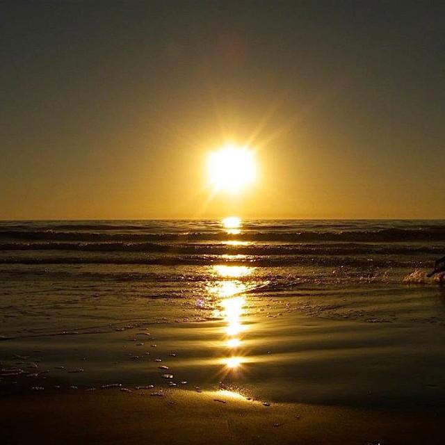 """Sunset fun"" stock image"