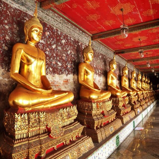 """""""A Buddha"""" stock image"""