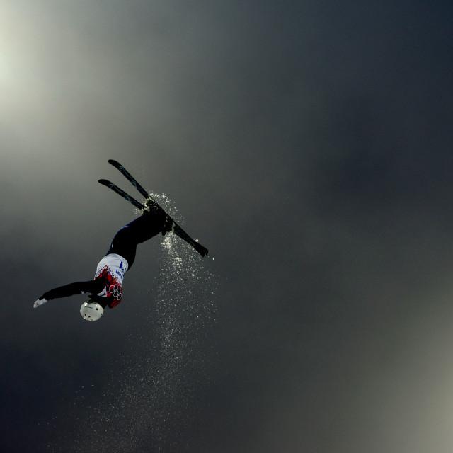 """Fog Aerials in Sochi"" stock image"