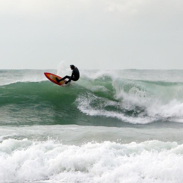 """Surf Ninja II"" stock image"