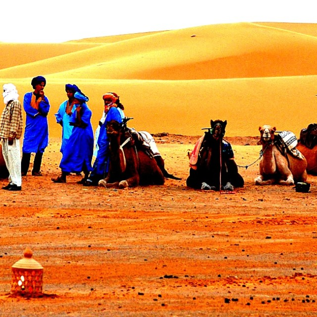 """Men in Morocco"" stock image"