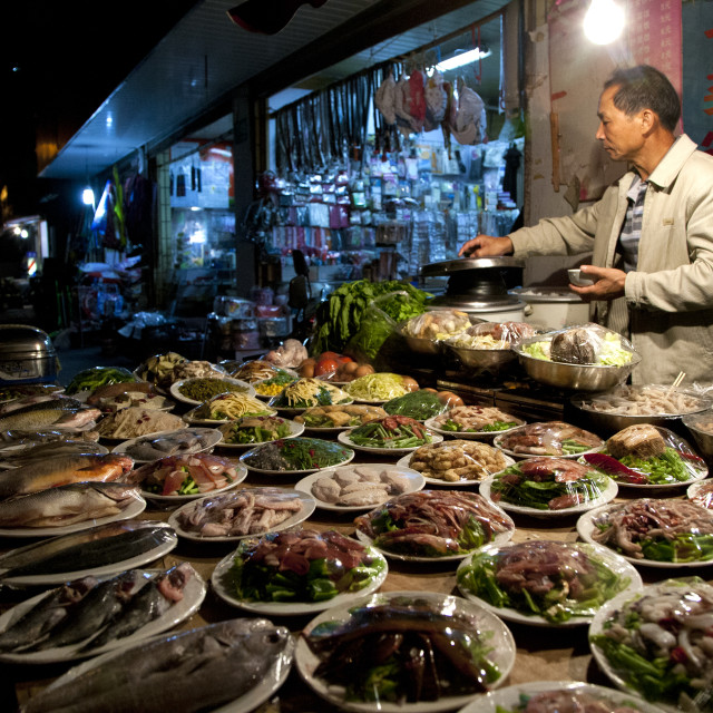 """Shanghai Street Food"" stock image"