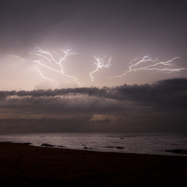 """Lightning in Sri Lanka"" stock image"
