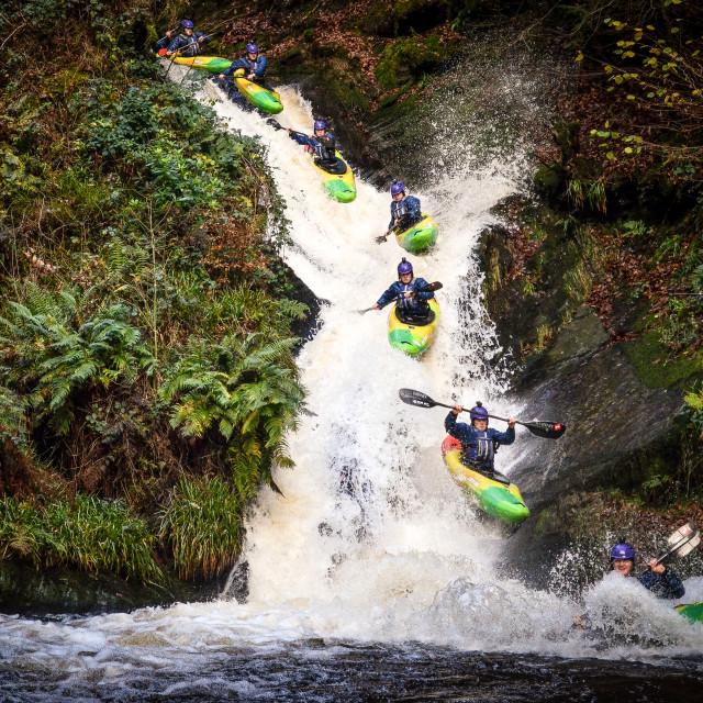 """Kayak Sequence"" stock image"