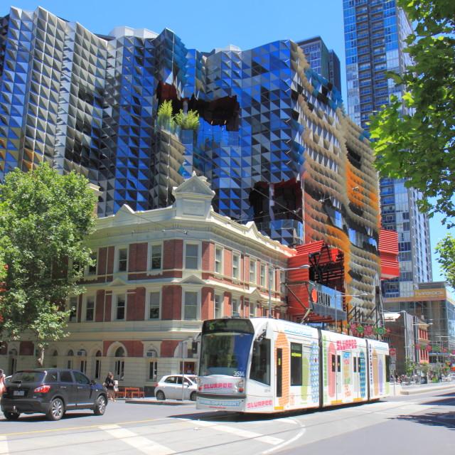 """Modern building Melbourne"" stock image"