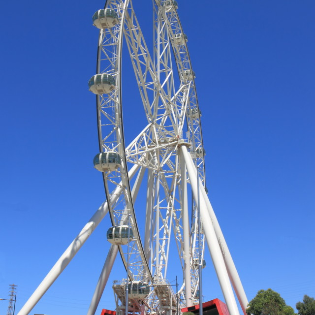 """Melbourne star observation wheel"" stock image"