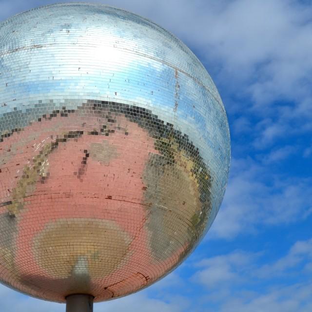 """Mirrorball, Solaris Centre"" stock image"
