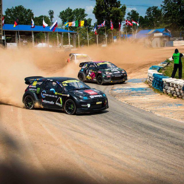 """""""Rallycross Racing"""" stock image"""