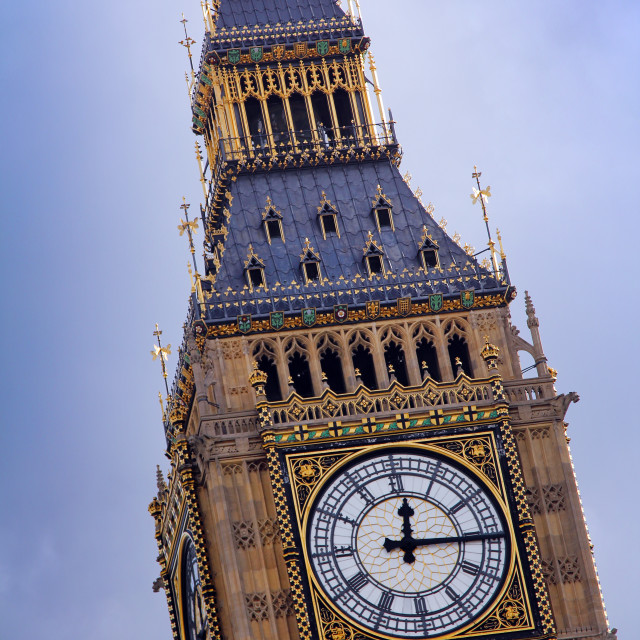"""London time"" stock image"