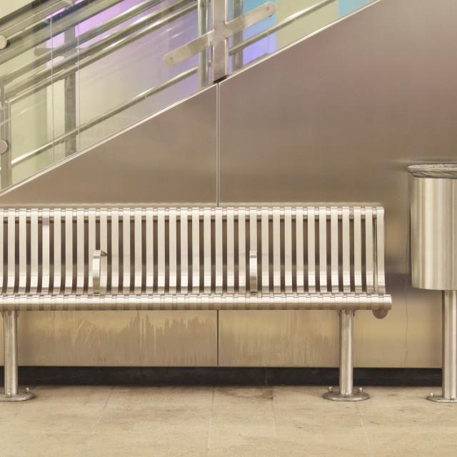 """""""Empty metro station 1"""" stock image"""
