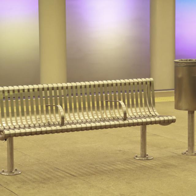 """""""Empty metro station 2"""" stock image"""