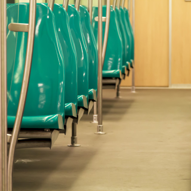 """""""Empty metro train 2"""" stock image"""