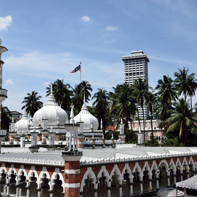 """Masjid Al-Jaame'e"" stock image"