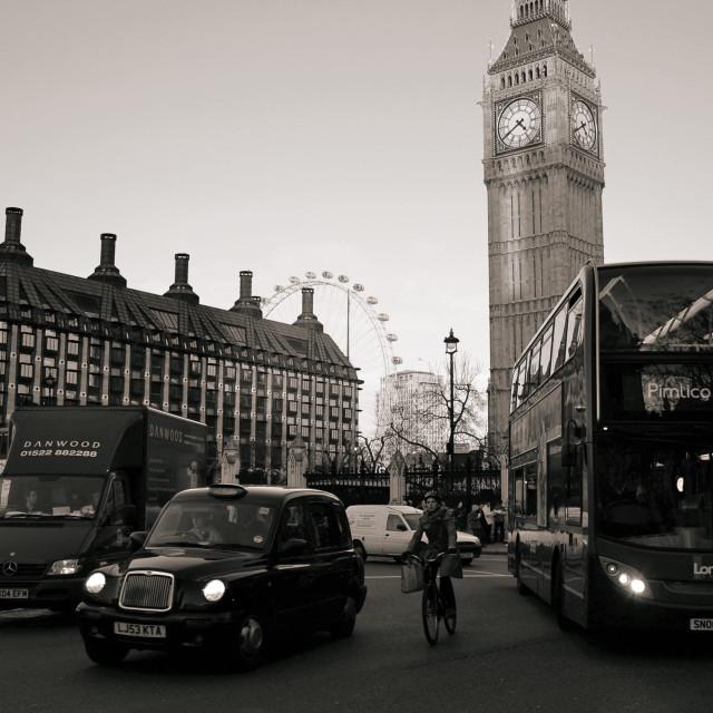 """""""Iconic London"""" stock image"""