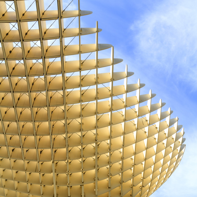 """Metropol Parasol in Seville"" stock image"
