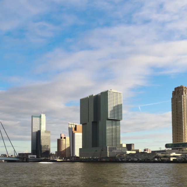 """Rotterdam cityscape"" stock image"