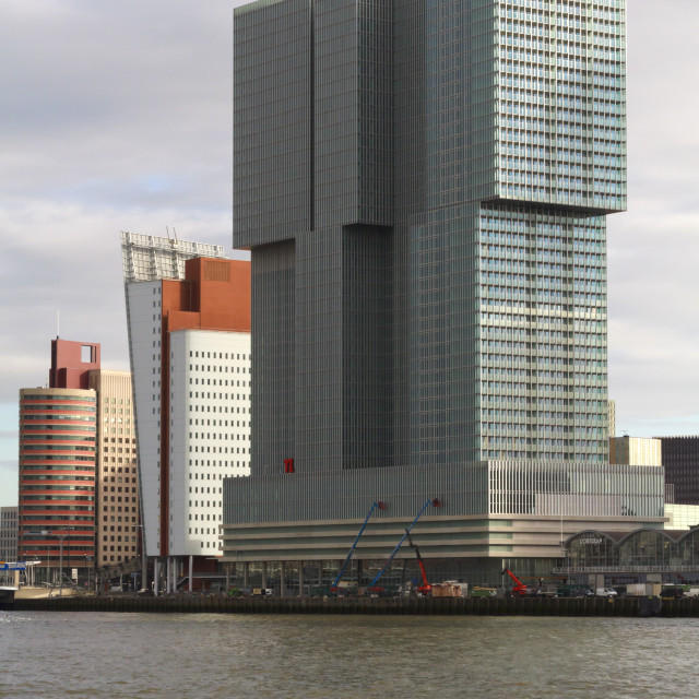 """The Rotterdam"" stock image"