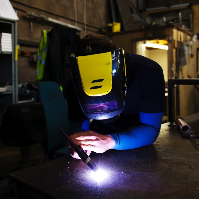 """Welder"" stock image"