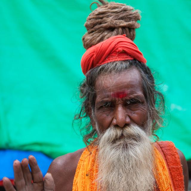 """""""Sadhu"""" stock image"""