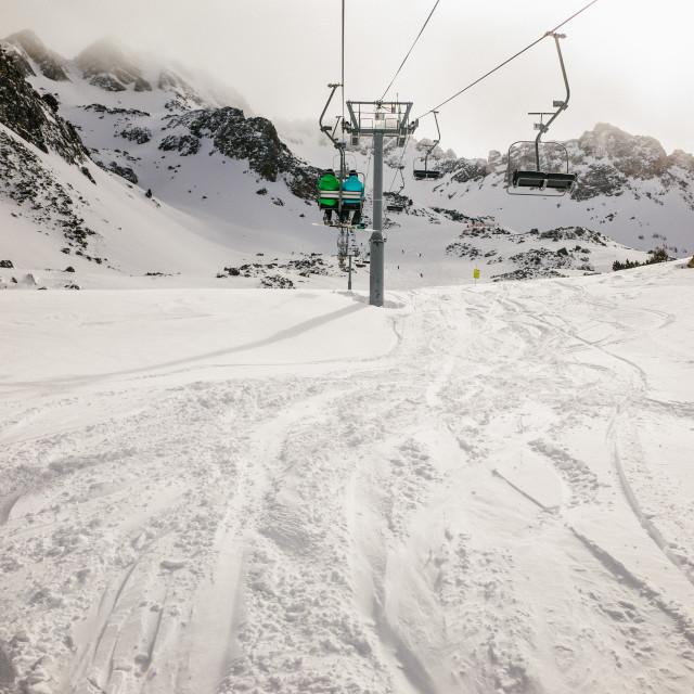 """Ski lift"" stock image"