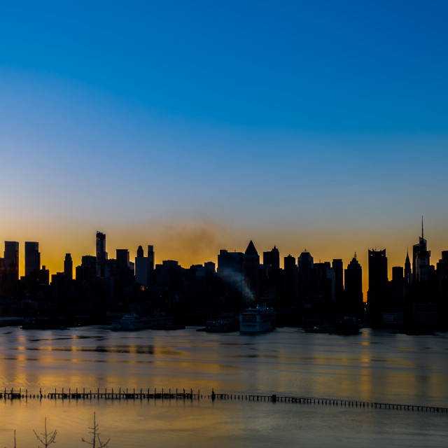 """Morning Manhattan"" stock image"