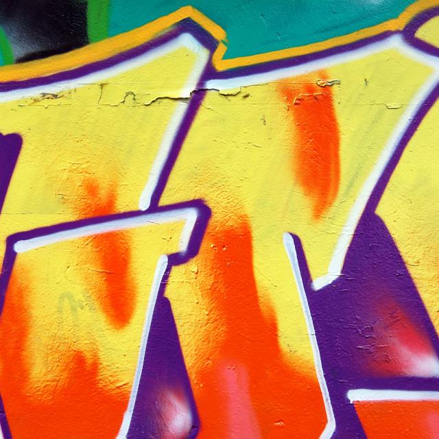 """""""wall graffiti"""" stock image"""