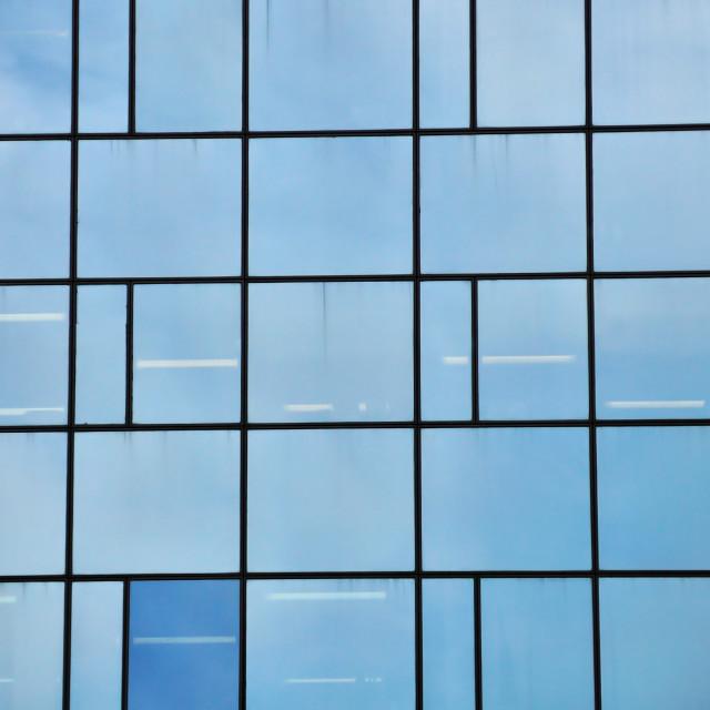 """""""glass facade"""" stock image"""