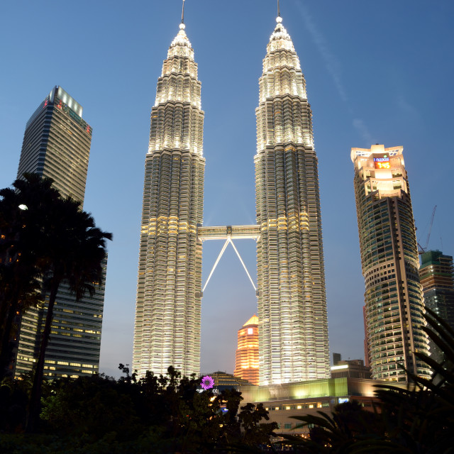 """KLCC Tower"" stock image"