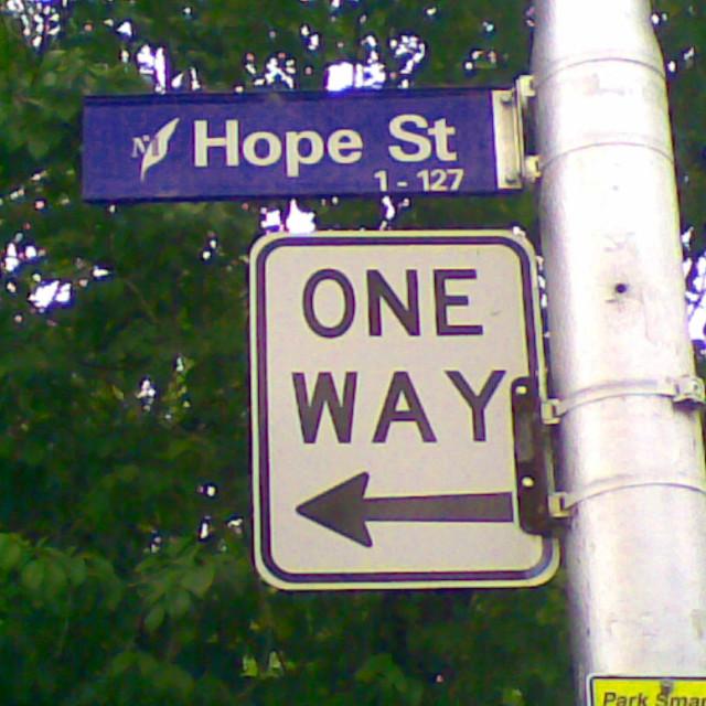 """Hope Street"" stock image"