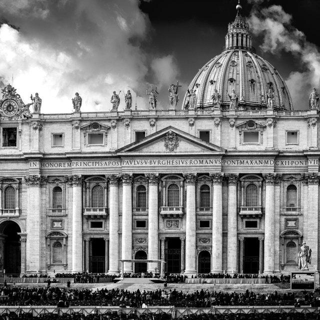 """St Peter's Basillica, Vatican City"" stock image"