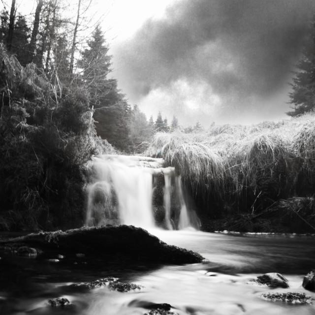 """""""Glenglave Water"""" stock image"""