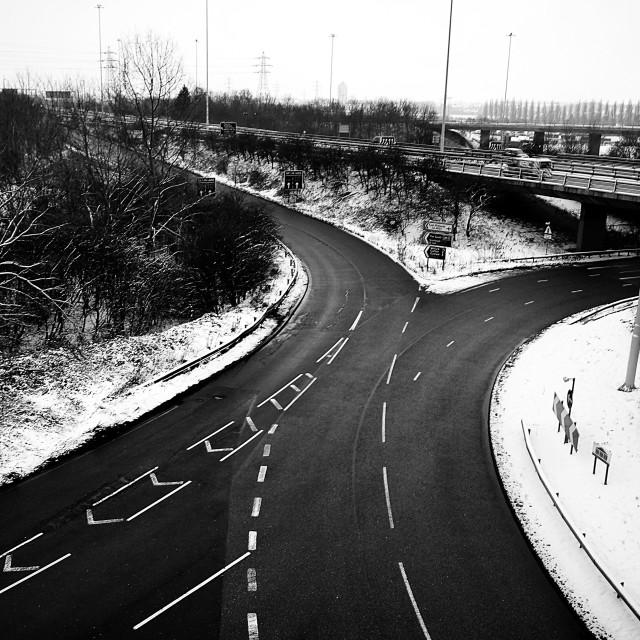 """clifton bridge nottingham"" stock image"