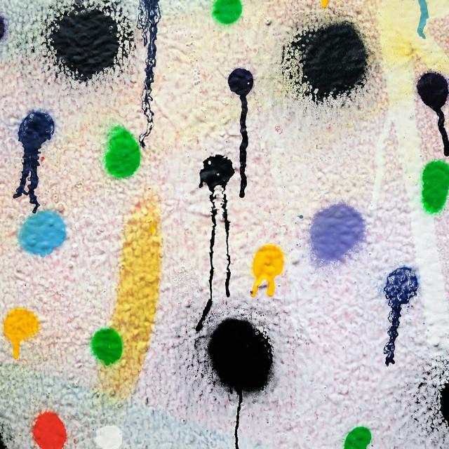 """paint dots"" stock image"