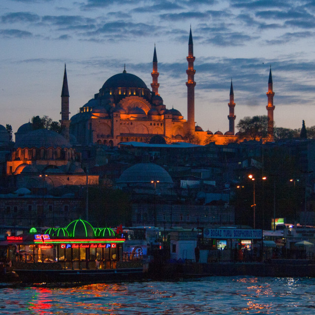 """Mosque, Istanbul"" stock image"