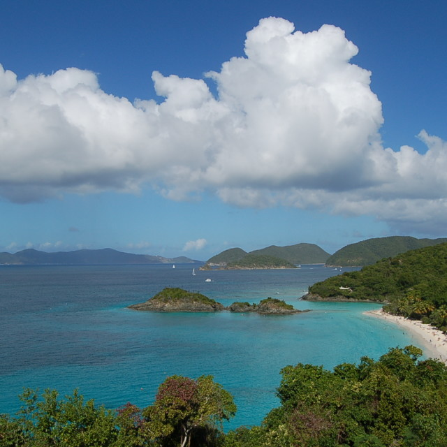 """Trunk Bay - St. John - Virgin Islands"" stock image"
