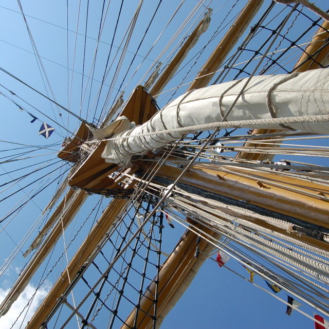 """Tall Ship"" stock image"
