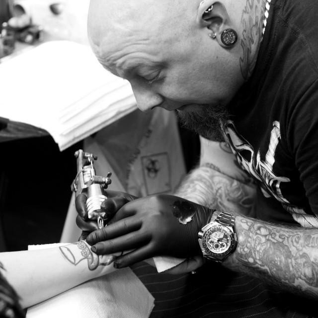 """""""Tattooist"""" stock image"""