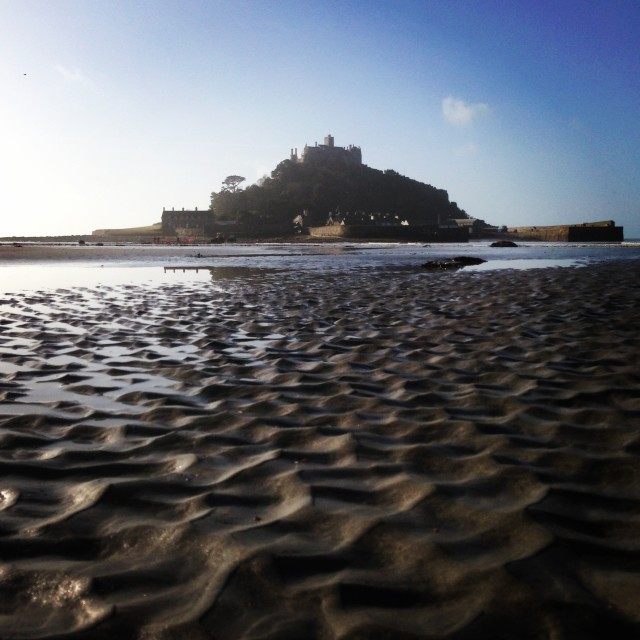"""St Michaels Mount - Cornwall."" stock image"