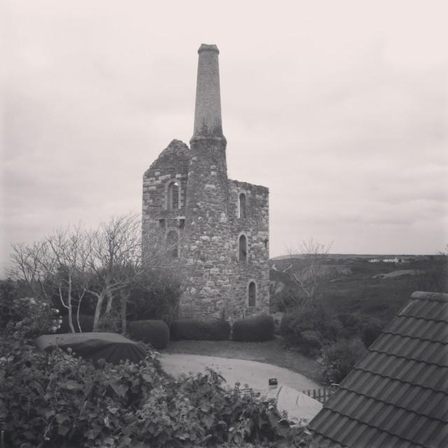 """Cornish mill"" stock image"