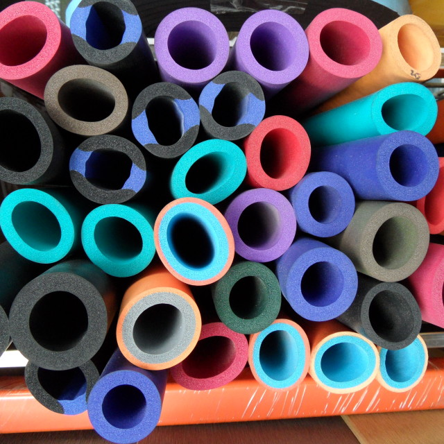 """Colorful Tubes"" stock image"