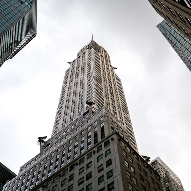 """Chrysler building, New York City"" stock image"