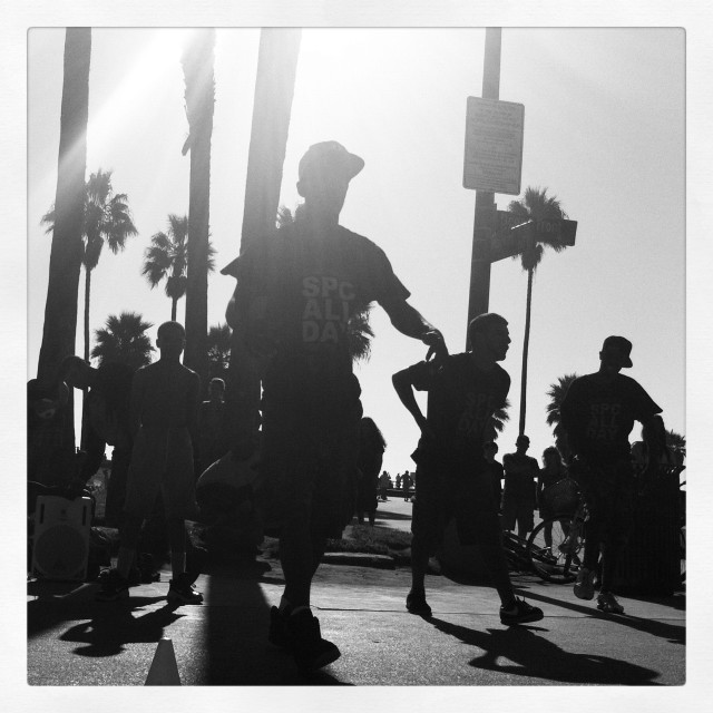 """Venice dancing"" stock image"