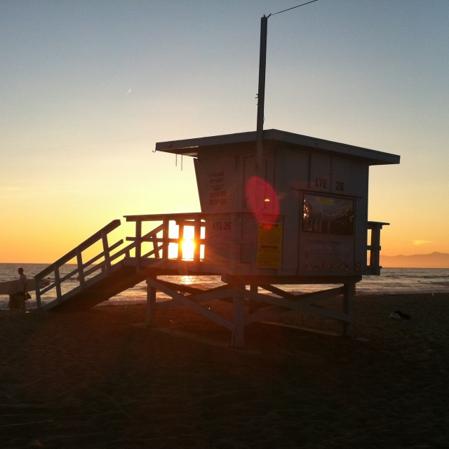 """Lifeguards LA"" stock image"