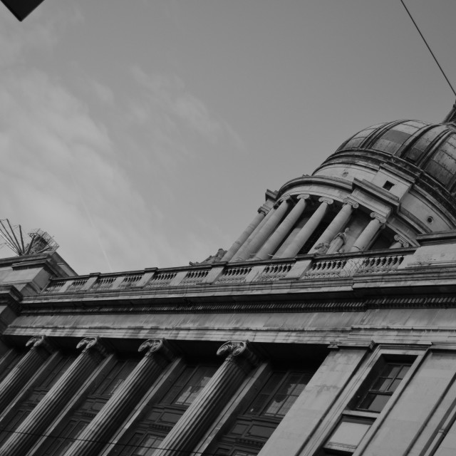 """nottingham council house old market square"" stock image"