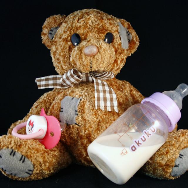 """Baby Comforts"" stock image"