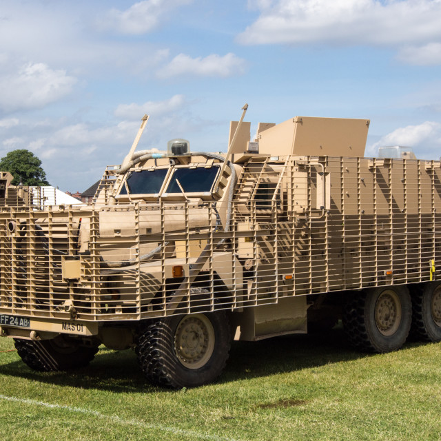 """Armoured Personnel Carrier"" stock image"